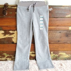 NWT Old Navy Gray Soft Pants Girls Sz 6-7